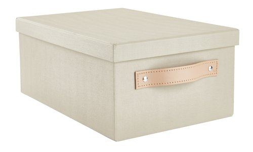 Caja FJORDUR A23xL33xA14 cm caqui