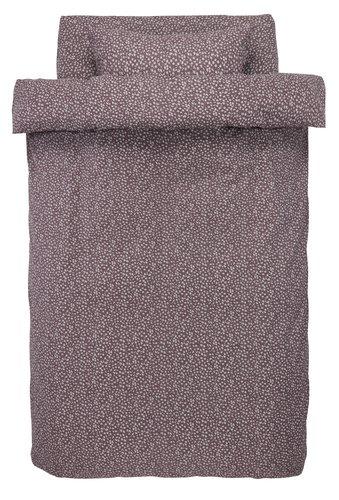 Пост. белье HANNA 140x200 фиолетовый