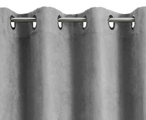 Cortina ANTEN 1x140x300 gris claro