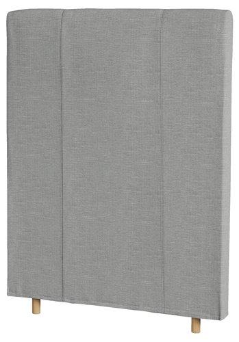 Sänggavel 90x125 VIKING BEDS grå-53