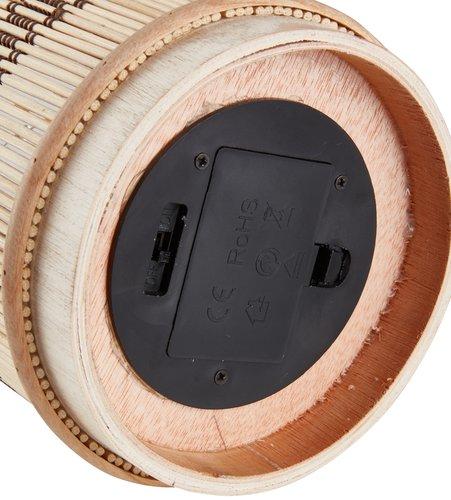 Batterilampe MINGUS Ø13xH18cm m/timer