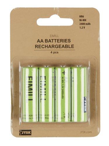 Batéria EIMILL nabíjacia AA 4ks/bal
