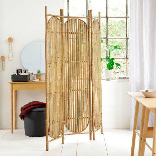 Sminkebord SAKSILD m/speil bambus