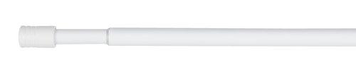 Gordijnroede RIMINI 90-160 cm wit
