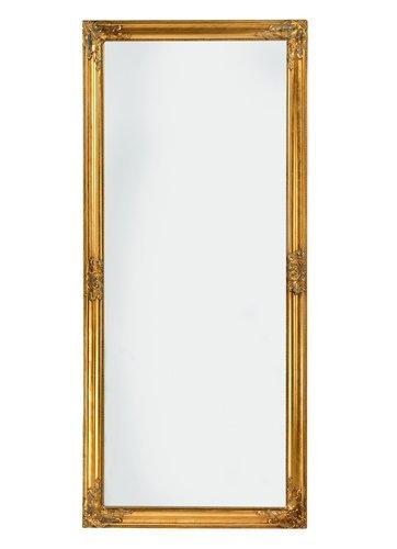 Zrcadlo RUDE 72×162 zlatá