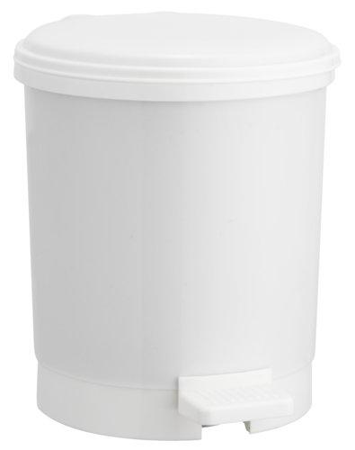 Pattumiera pedale UTBY 3Lplastica bianco