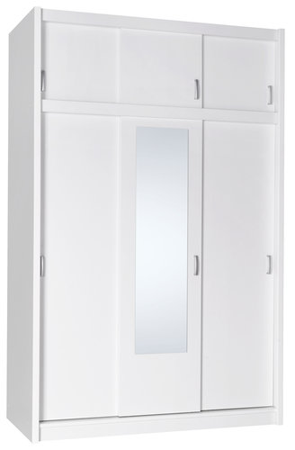 Ντουλάπα GENTOFTE 144x220 λευκό