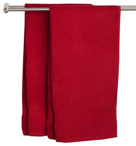Drap de douche KARLSTAD 70x140 rouge