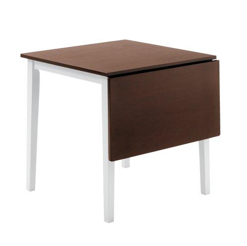 Blagov. stol BRANDERUP 75x115 smeđa