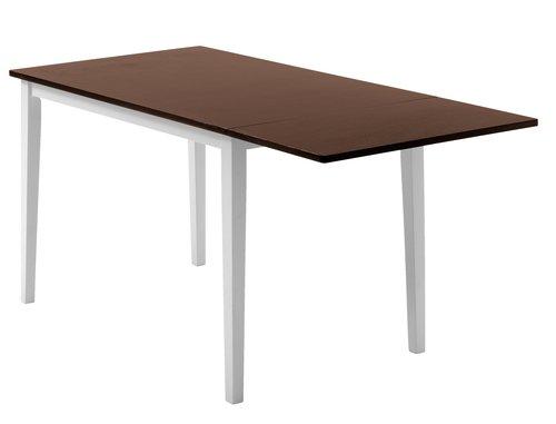 Ruokapöytä BRANDERUP 75x160 ruskea