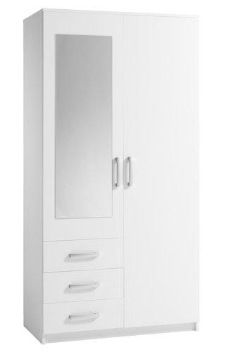Ormar VELLERUP 101x200 bijela
