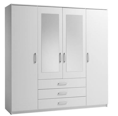 Ormar VINDERUP 200x201 kombi bijela