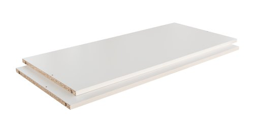 Hyllyt TARP 73x45 2 kpl/pkt valkoinen