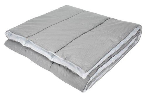 Täcke 500g MELDAL grå sval 150x200