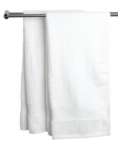 Gæstehåndklæde KARLSTAD hvid KRONBORG
