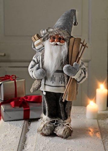 Djed Božićnjak HERVARD V41cm bijela
