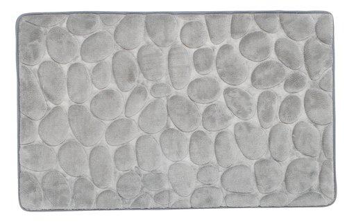 Kupaonski tepih PUKAVIK 50x80 siva