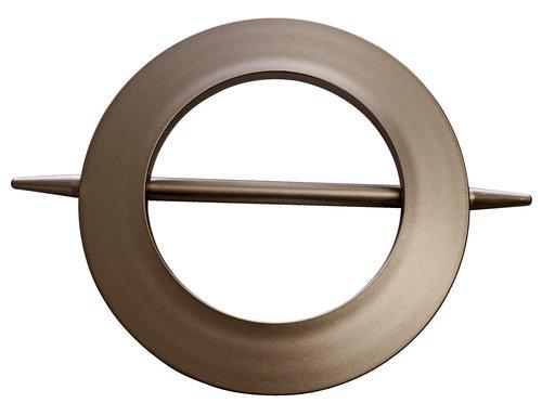 Kopča za zavjese Ø13/8,5 cm srebrna
