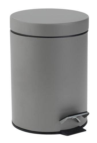 Odpadkový kôš MALA 3L kov sivá