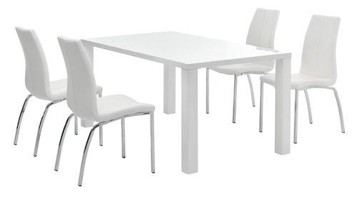 OMME D160 biały + 4 HAVNDAL biały
