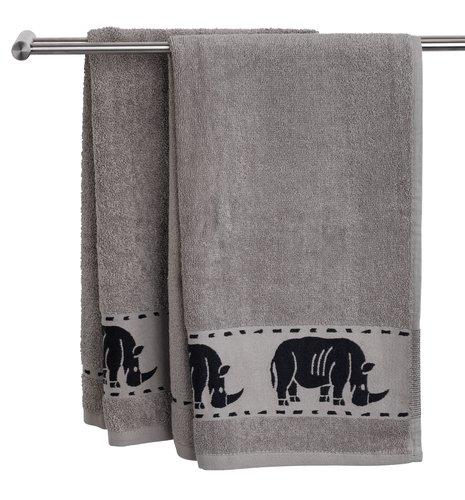 Ręcznik MALUNG 70x140 szary