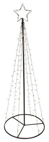 Valopuu PERLE K180cm 130 LEDillä