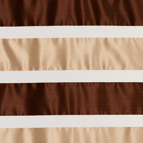 Záclona HORGO 1x140x245 béžová/hnedá