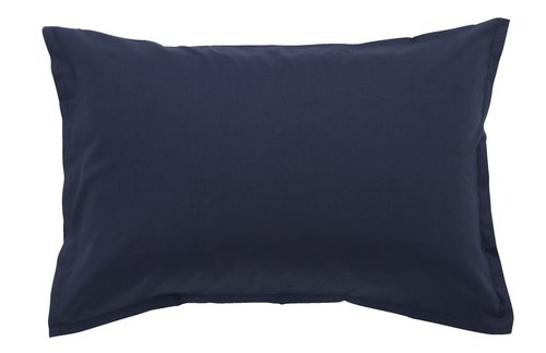 Pillowcase 50x70/75cm navy KRONBORG