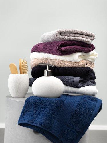 Håndklæde KARLSTAD sort