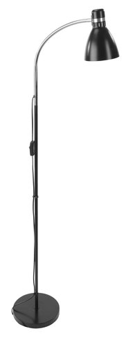 Golvlampa HANSSON Ø12xH145cm svart