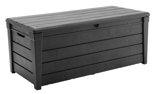 Cushion box SVENDBORG W145xH60xD69 grey