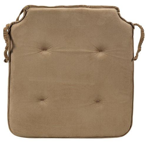 Μαξιλ. καρέκλας ANTEN 41x43x2.5 καφέ