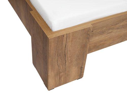 Okvir kreveta VEDDE 180x200 divlji hrast