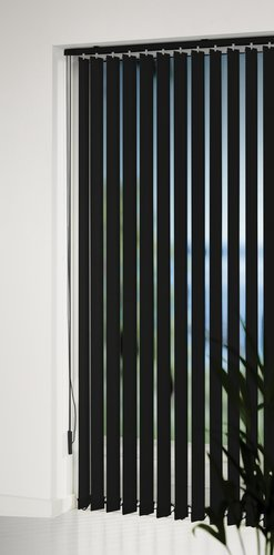 Vertical Blind ROGEN 200x250cm black