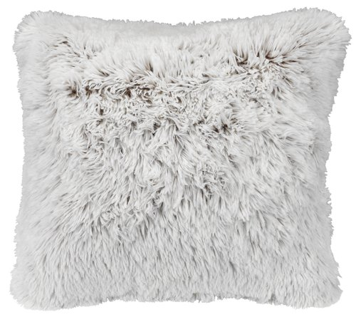 Възглавница LOTUS 50x50 см бяла/кафяво