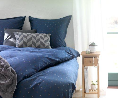 Lenjerie pat+cearșaf STELLA 1 pers albas