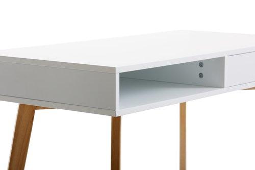 Scrivania TAMHOLT 50x100 bianco/naturale