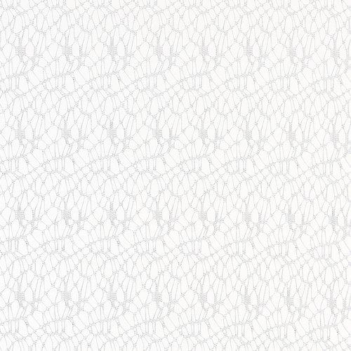 Zasłona LURO 1x140x245 cm pajęczyna krem