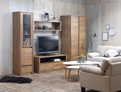 Έπιπλο TV VEDDE άγρια δρυς