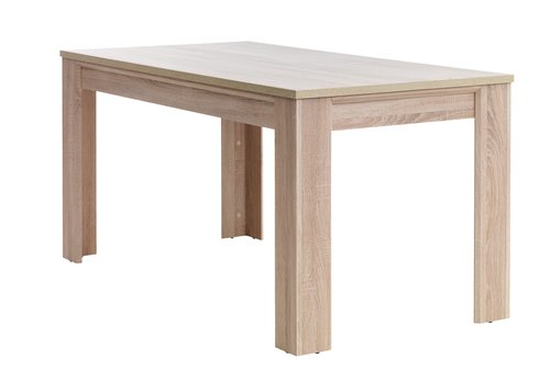 Dining table HALLUND 80x160 oak