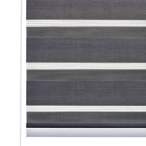 Roller blind Duo ALSTEN 100x180cm grey