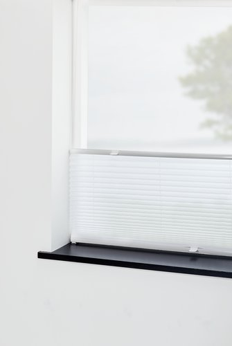 Plisségardin HVEN 75x130cm hvid