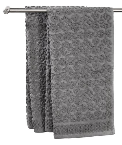 Håndklæde STIDSVIG grå KRONBORG