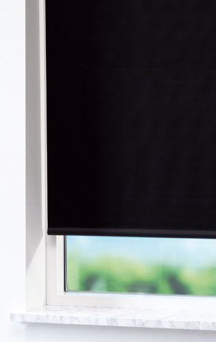 Blackout blind BOLGA 80x170cm black