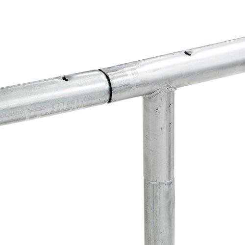 Studsmatta STOJ Ø305 m/säkerhetsnät grå