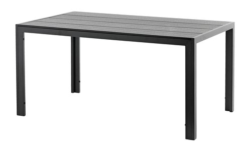 Stol MADERUP Š90xD150 crna