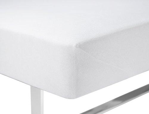 Чаршаф хавлиен 180x200x40см бял