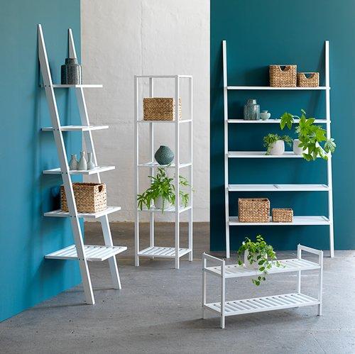 Shoe rack UGGERBY 2 shelves white