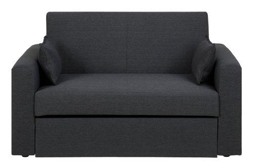 Kauč na razvlačenje LANDERSLEV tam. siva