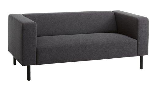 Sofa KARISE 2,5-pers. antracitgrå
